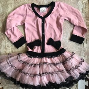Adorable tutu dress from Ooh! La, La! Couture